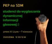 PKP na Światowe Dni Młodzieży – praca dla studentów!
